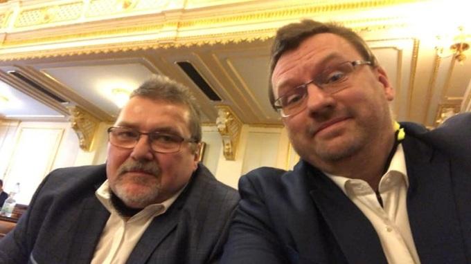 Marian Bojko a Lubomír Volný