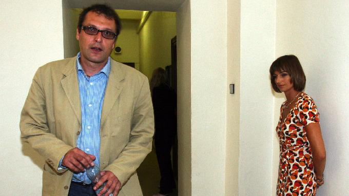 Ondřej Höppner a Ivana Jirešová u soudu