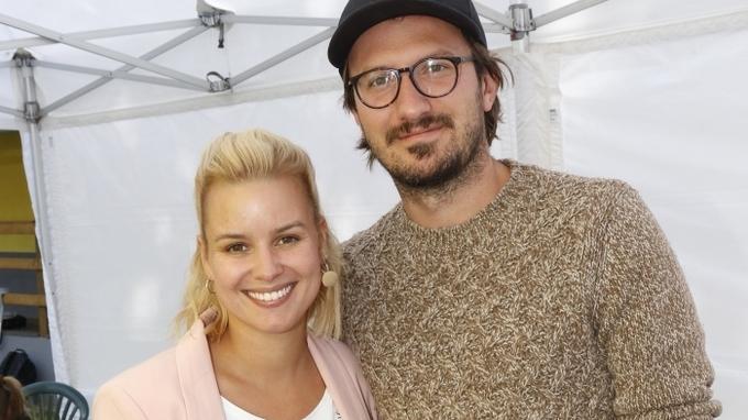 Patricie Pagáčová s manželem