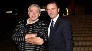 Bývalí fotbaloví reprezentanti Ladislav Vízek a Vladimír Šmicer