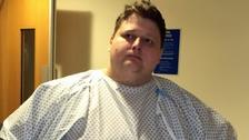 Paul Stevenson vážil 327 kilogramů