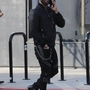 *EXCLUSIVE* Jeremy Jackson has lunch with his girlfriend in Los Angeles