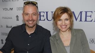 Monika Valentová s manželem Martinem Veselovským