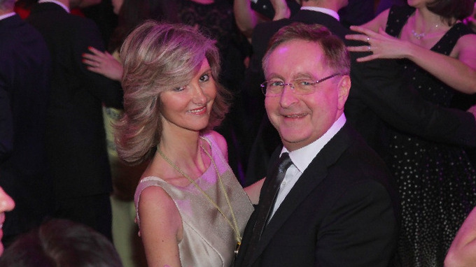 Monika Arenbergerová s manželem Petrem Arenbergerem
