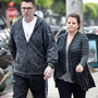 EXC: YASMIN BLEETH AND HER HUSBAND OUT IN LA