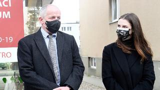 Dcera hlavy státu Kateřina Zemanová s Romanem Prymulou