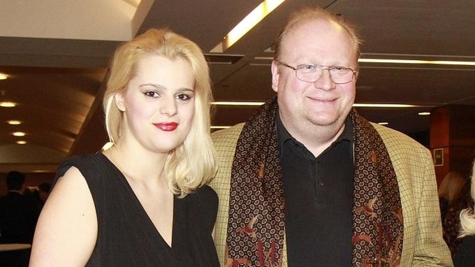 Ornella Koktová a její táta Michal Štika