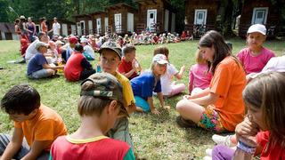 Dětský tábor – ilustrační snímek