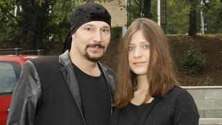Zpěvák Bohuš Matuš a jeho manželka Lucie