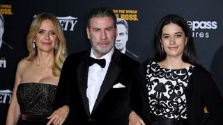 Herec John Travolta, zesnulá manželka Kelly Prestonová a dcera Ella