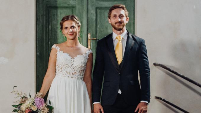 Petra Malíková a René Vrábel