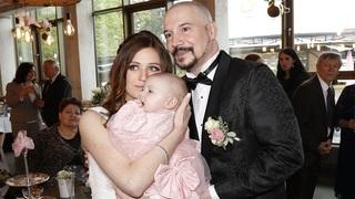 Bohuš Matuš a manželka Lucie s dcerou