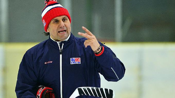 Hokejový trenér Vladimír Růžička
