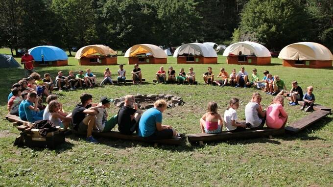 Letní tábor – ilustrační foto
