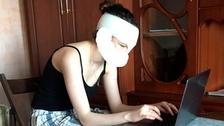 19letá modelka Darya Mukhinaová po útoku expřítele
