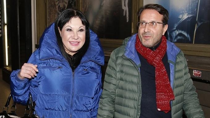 Dagmar Patrasová a její přítel Vito