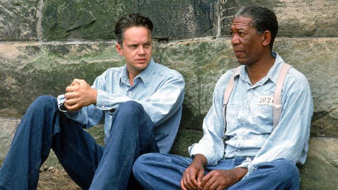 Herci Tim Robbins a Morgan Freeman
