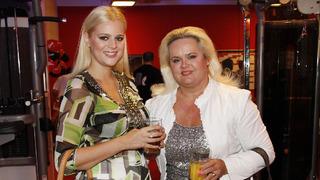 Ornella s matkou Monikou