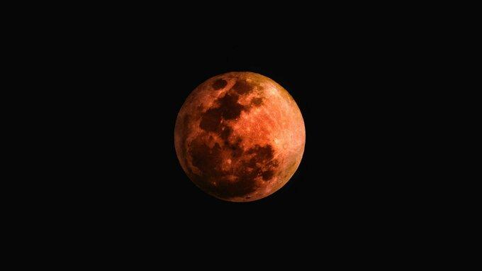 Měsíc – ilustrační foto