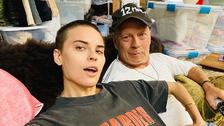 Bruce Willis a jeho dcera Tallulah