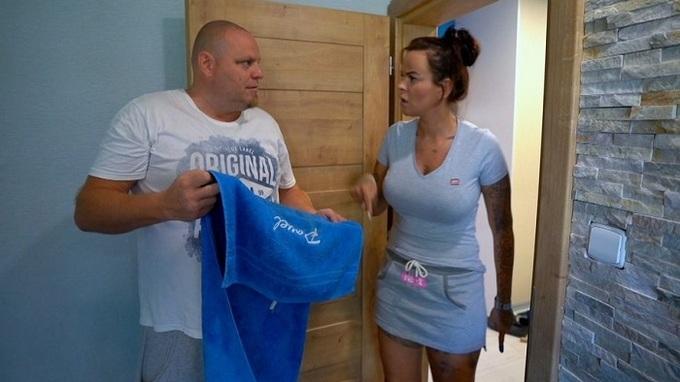 Pavel Dlesk a Štěpánka Hadenová v reality show