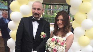 Zpěvák Bohuš Matuš a jeho manželka Lucie Matušová
