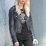 *EXCLUSIVE* Taylor Momsen takes a break with a Cigarette and a Red Bull Taylor Momsen