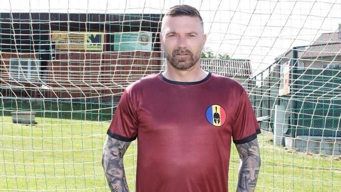 Tomáš Řepka ve slavném dresu.