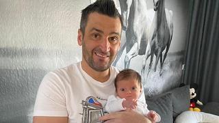 Martin Fenin se svou dcerou