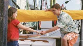 Zprava Joshua Jackson a Katie Holmesová v seriálu Dawsonův svět