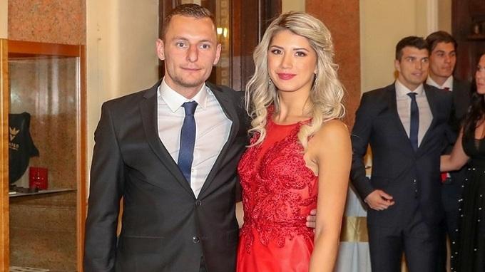 Vladimír Coufal a jeho manželka Hana
