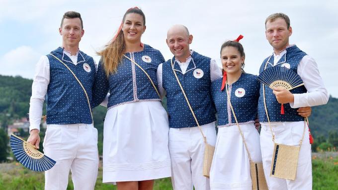 Nástupová kolekce na zahajovací ceremoniál Olympijských her 2021