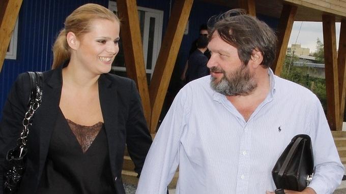 Ornella Koktová a její manžel Josef Kokta