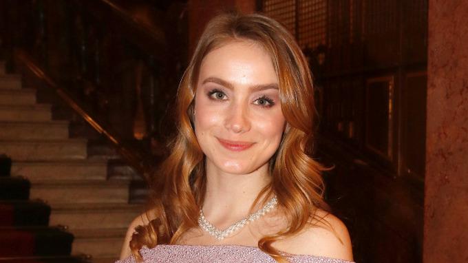 Herečka Anna Kadeřávková