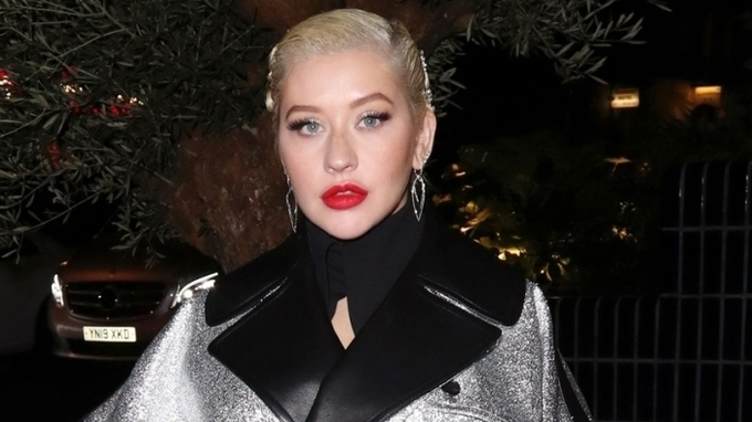 Zpěvačka Christina Aguilera