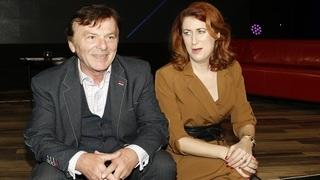 Pavel Trávníček a jeho manželka Monika