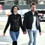 ***NO WEB UNTIL 0001 GMT 13TH NOV PREMIUM EXCLUSIVE*** Ewan McGregor hand-in-hand with Fargo co-star and new girlfriend Mary Elizabeth Winstead in Hollywood, CA.