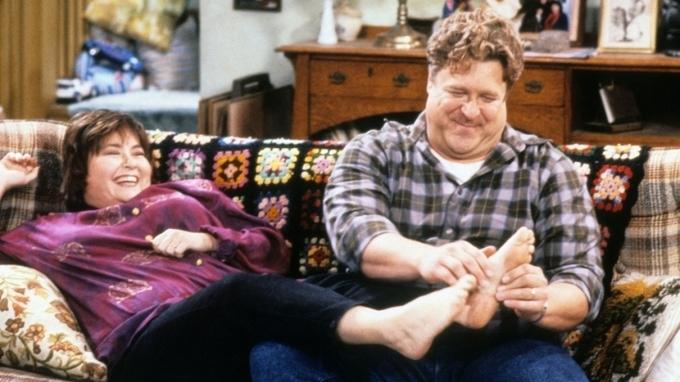 Herec John Goodman v sitcomu Roseanne