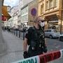 Praha – místo střelby, kde zemřela pracovnice úřadu práce