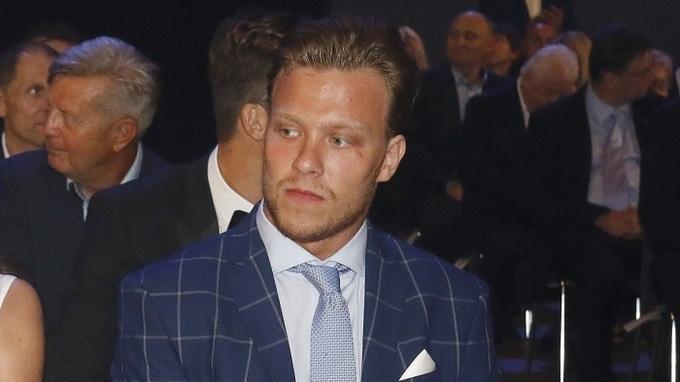 Hokejista David Pastrňák