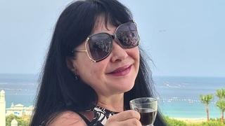 Dagmar Patrasová na dovolené