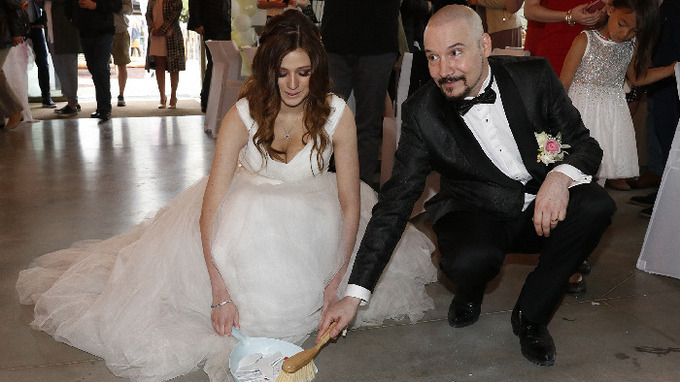 Zpěvák Bohuš Matuš s manželkou Lucií
