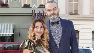 Herečka Eva Decastelo s manželem