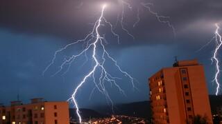 Počasí, bouřka, blesk – Ilustrační snímek