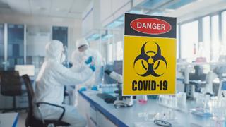 Covid-19 laboratoř – Ilustrační snímek