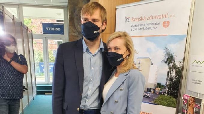 Ministr s manželkou Olgou