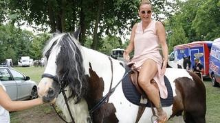 Vendula Pizingerová na koni