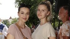Modelka Iva Kubelková s 16letou dcerou Natálií Jiráskovou