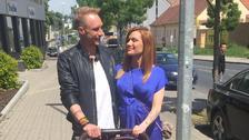 Gabriela Soukalová s přítelem Milošem Kadeřábkem