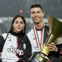 (SP)ITALY-TURIN-SOCCER-SERIE A-JUVENTUS-TROPHY CEREMONY